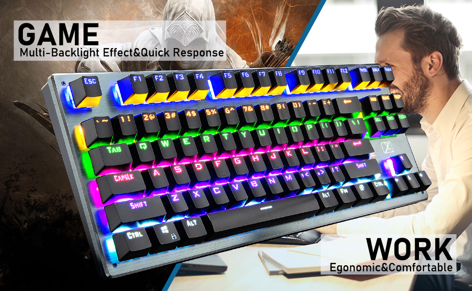mechanical gaming keyboard for gamer