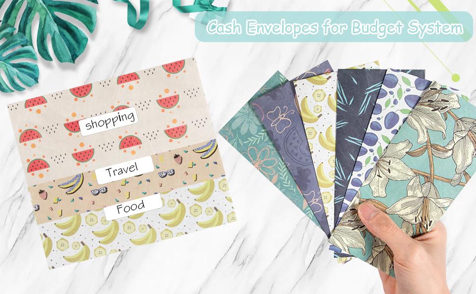budget envelopes waterproof paper envelopes portable dave ramsey money envelopes kids envelopes