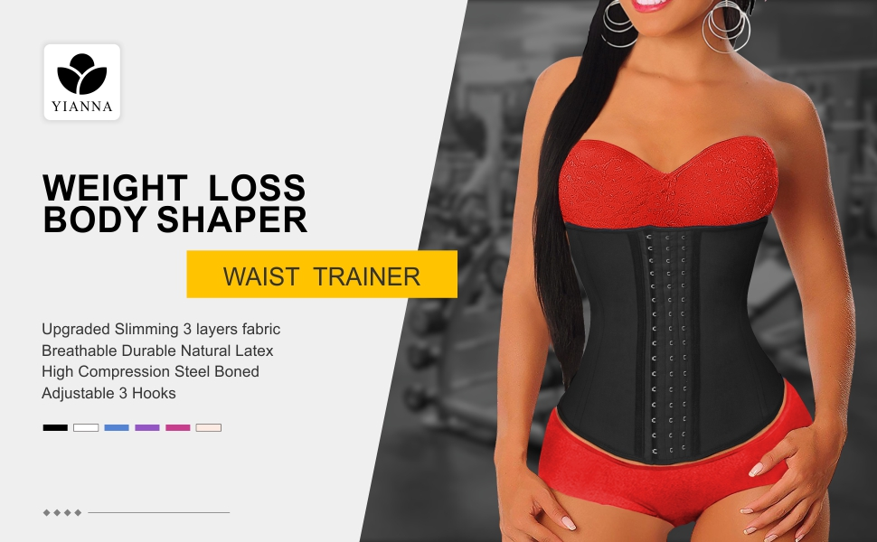 YIANNA waist trainer for weight loss