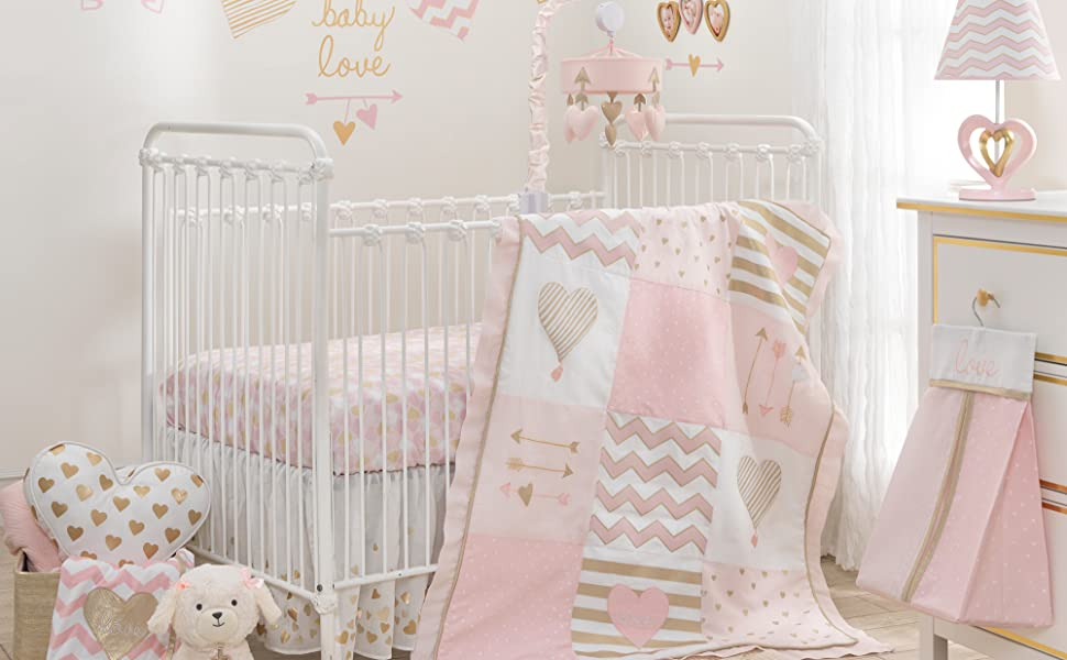 Baby Love Nursery with Crib Set