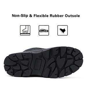 durable outsole cold weather shoes
