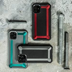 iphone 11 defense tactical colorful rugged grippy rubber exterior protect scratch crack drop break