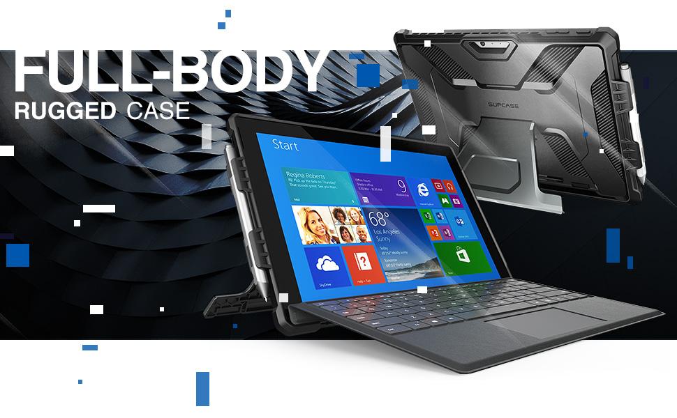 Supcase Unicorn Beetle Pro Case for Surface Pro 6 2018