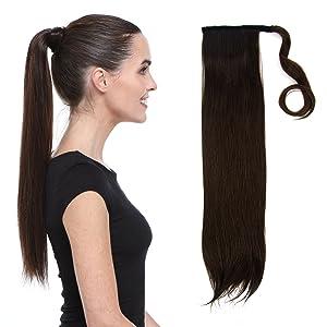 "Hair Couture AVANTI Human Ponytail 18"""