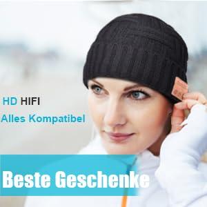 Männer und Frauen Geschenk Bluetooth Mütze
