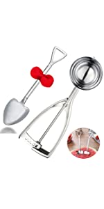 large ice cream scoop with shovel spoon