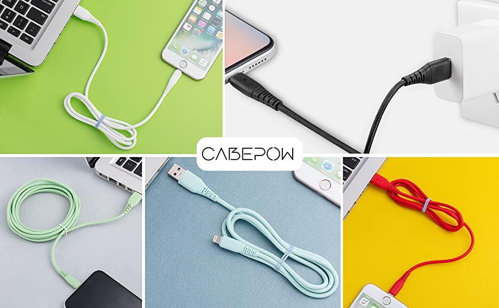 Bon Voyage Quick Charging Cable Retractable USB C Cable Multi Fast Charger Cord Adapter USB Port Connectors Compatible with iPhone,Android Phone,Samsung,Ipad,Laptop