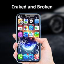 craked and broken