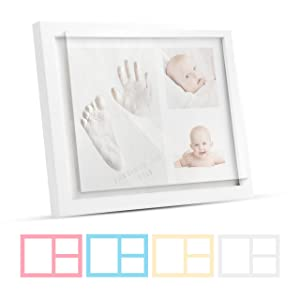 baby footprint kit keepsake box handprint frames photo frame gift picture kits memory newborn gifts