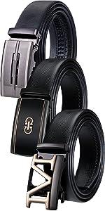 fashion mens belt gift set M buckle designer belt big tall mens belt click buckle adjustable soft