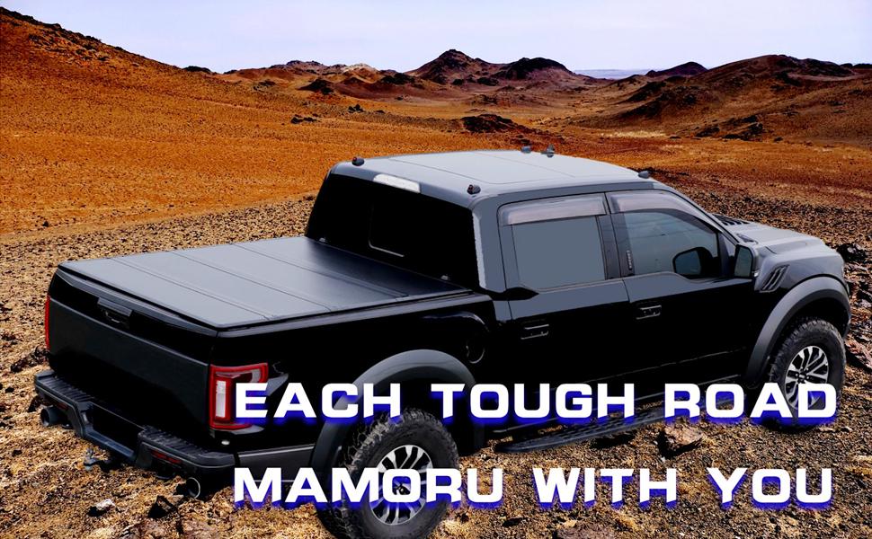 MAMORU HARD QUAD-FOLD TRUCK BED COVER
