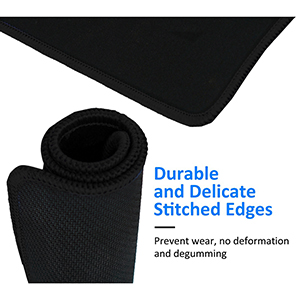 Stitched Edges Gaming Mouse Pad