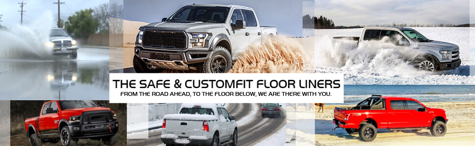 All weather guard heavy duty guard TPE floor liner