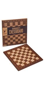 Husaria Staunton Tournament Chess Board, No. 4