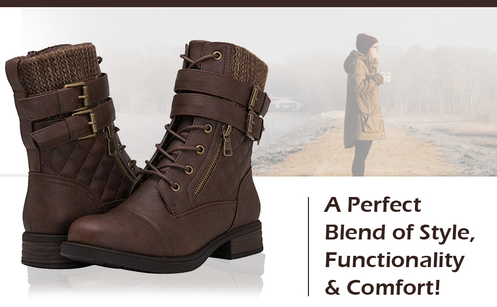 Globalwin fashion boots for women.