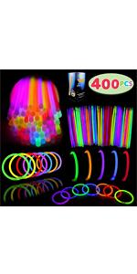 400 Glow Sticks