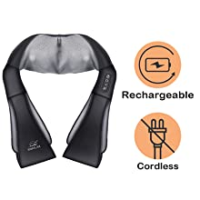 cordless neck massager with heat