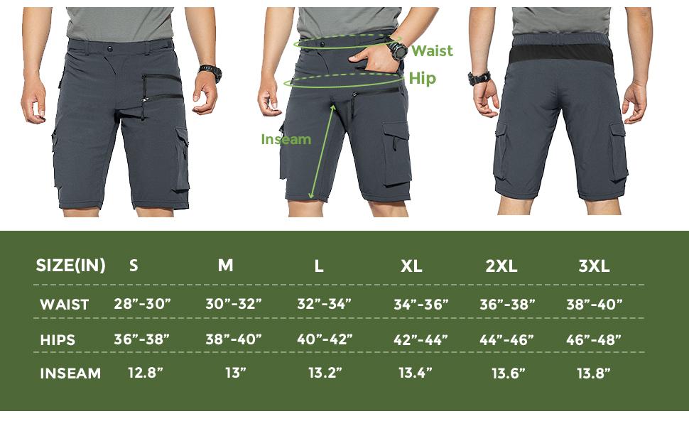 mountain biking shorts baggy