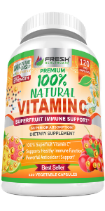 vitamin c capsules pills 1000mg 500mg rose hips acerola natural rose hips