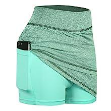 skorts skirts for women high waisted