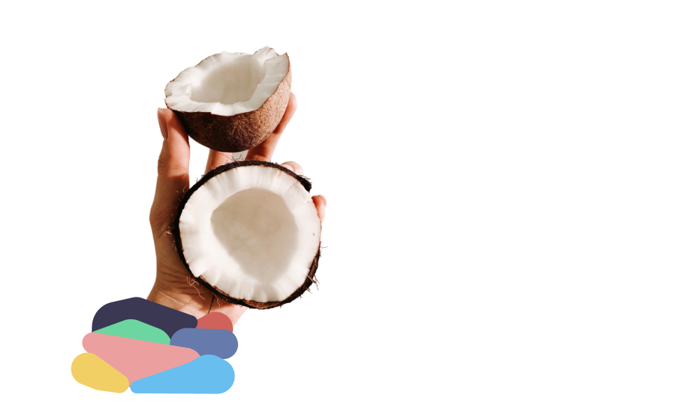 coconut hand
