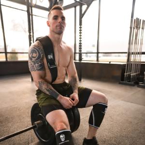 gymreapers quick lock belt fast adjustable stitching heavy duty premium grade knee elbow wrist wraps