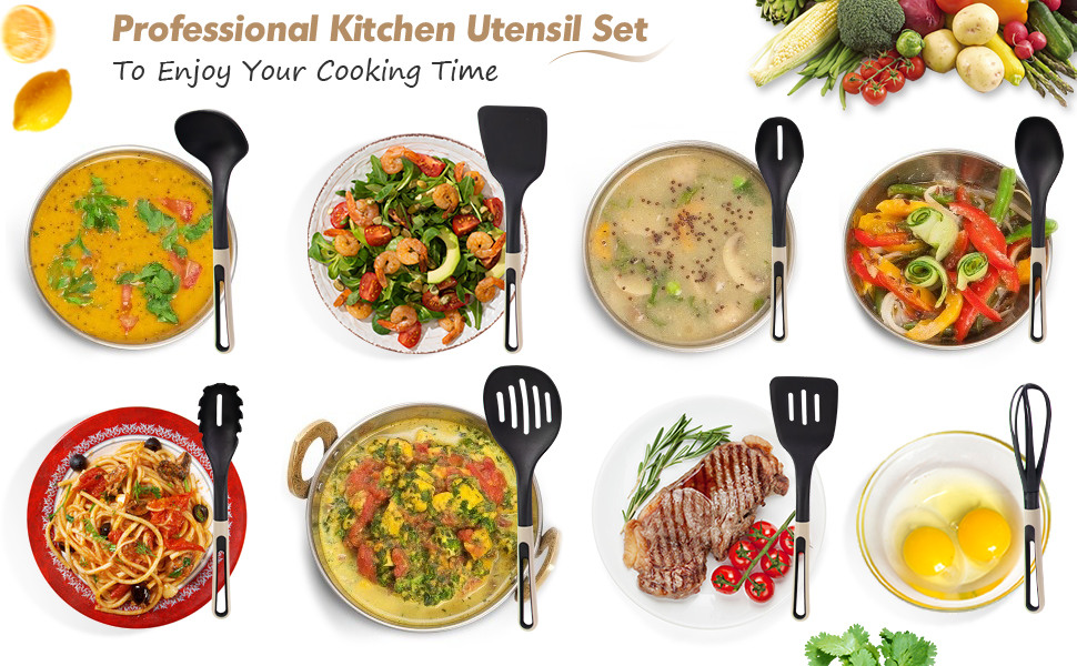 kitchen utensil sets for cooking