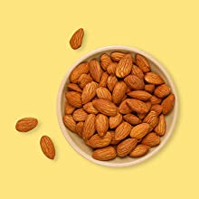 Goodness of real almond bits