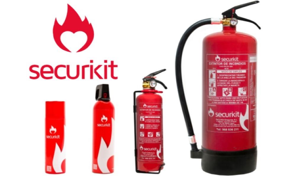 Spray extintor para cocinas y hogar. Especial para los fuegos de aceite que pueden producirse en la cocina de casa. NUEVO LOTE CAD 10/23: Amazon.es: Industria, empresas y ciencia