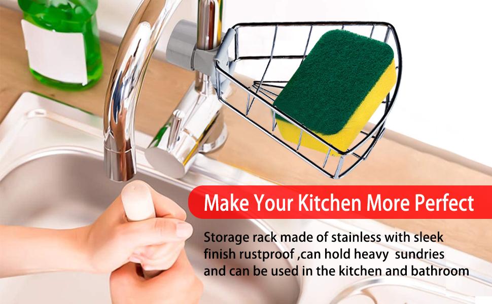 cleaning caddy kitchen sponge holderkitchen sink sponge holder dish sponge holder sink organizer