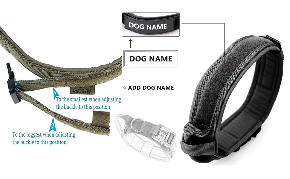 Tactical Dog Collars