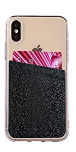 phone wallet stick on