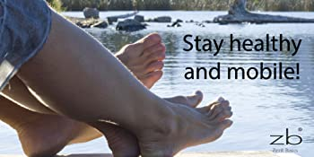 man and woman nice feet and toes on dock overlooking mountain lake stay healthy and mobile