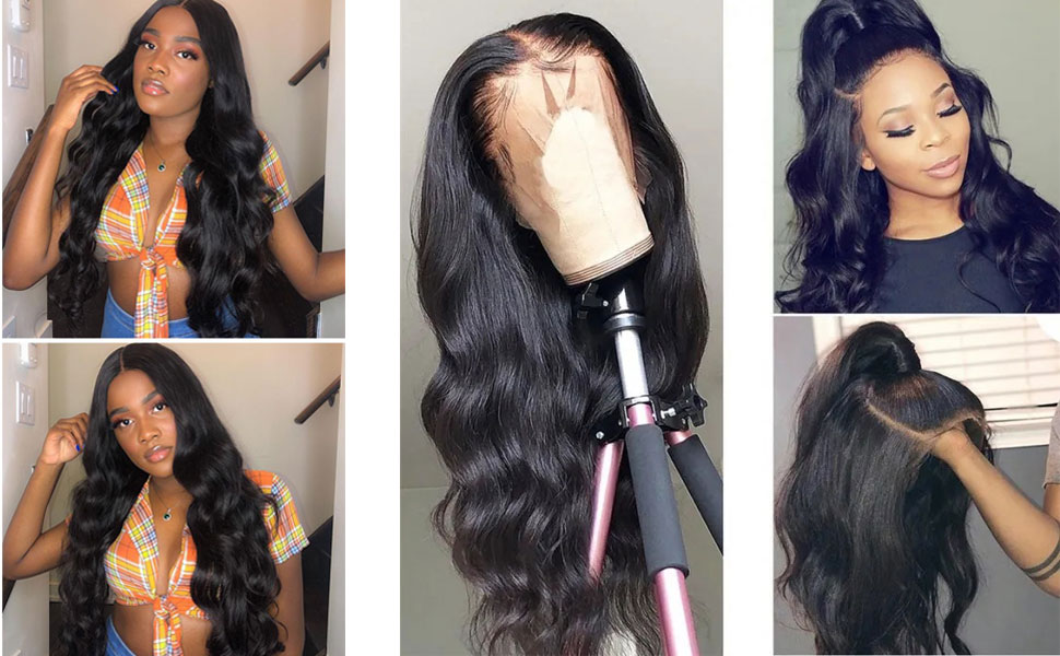 FLYBAO lace front wigs