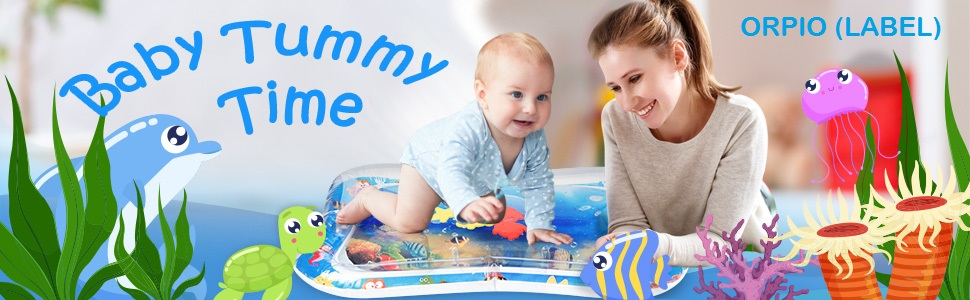 ORPIO (LABEL) Baby Timmy Time Play Mat