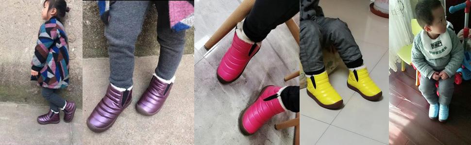 WUIWUIYU ankle boots