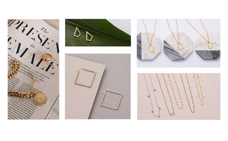 Uncommon James Kristin Cavallari Very Cavallari Jewelry Necklace Bracelet Ring Earrings Gold Silver