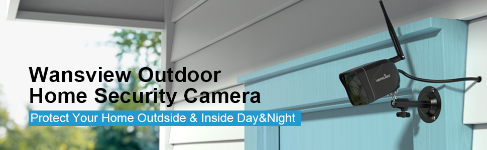 Flashandfocus.com e6e5dbfe-6765-48d2-a488-fa9f694f4b36.__CR0,0,970,300_PT0_SX970_V1___ Outdoor Security Camera, Wansview 1080P Wireless WiFi IP66 Waterproof Surveillance Home Camera with Motion Detection, 2…