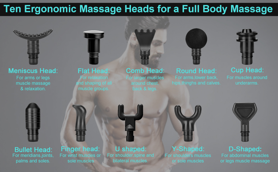 deep muscle massager gun