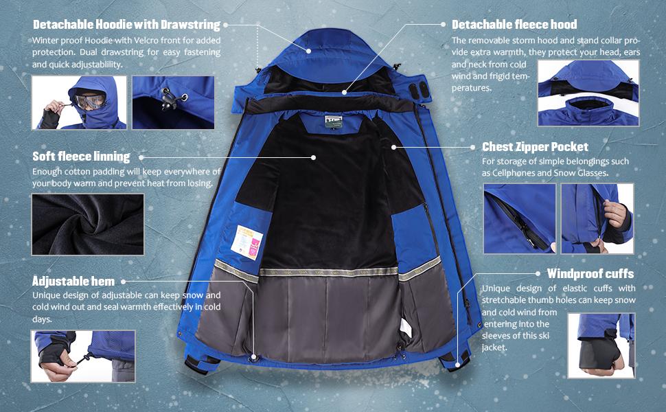 mountain ski jacket