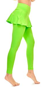 skirted leggings