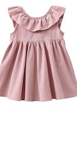 Toddler Baby Girls Cotton Tunic Dress