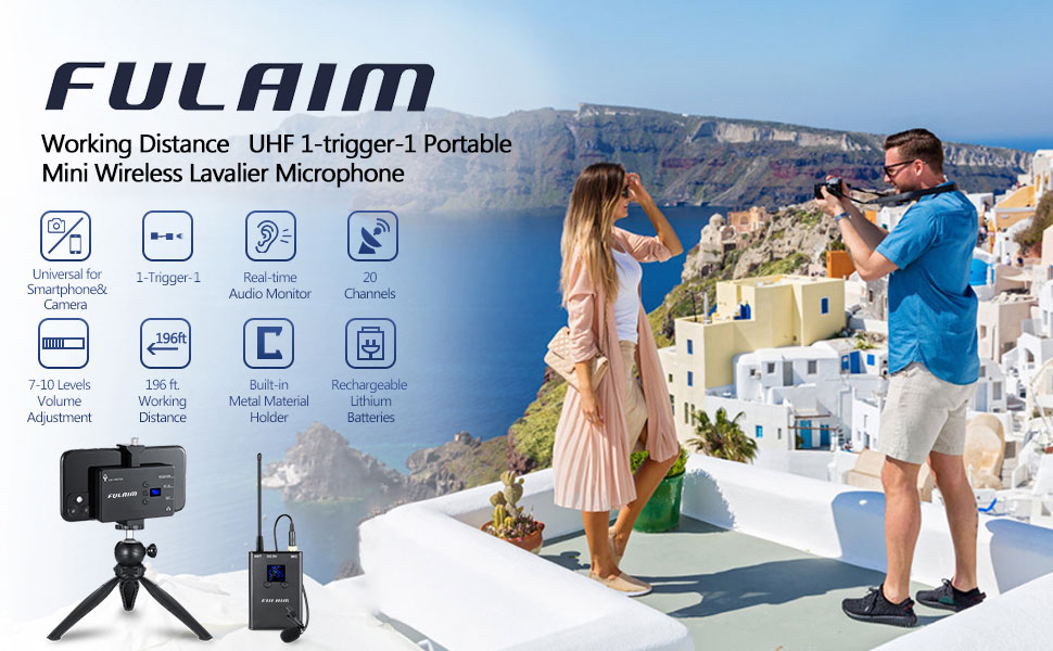 MX11 Wireless Omni Lavalier Microphone System for Smartphones