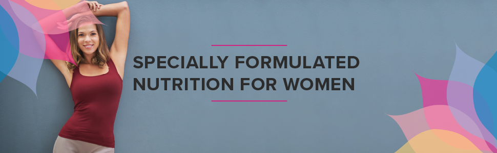specially formulated nutrition for women