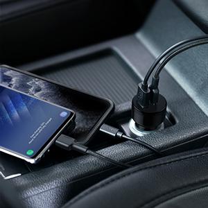 anker  car adapter usb cigarette lighter adapter  anker iphone charger  anker iphone charger  AUKEY