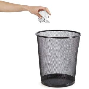mesh dustbin