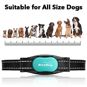 dog training collar for small medium large dogs