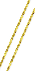 solid rope cable link heavy sturdy twisted braided