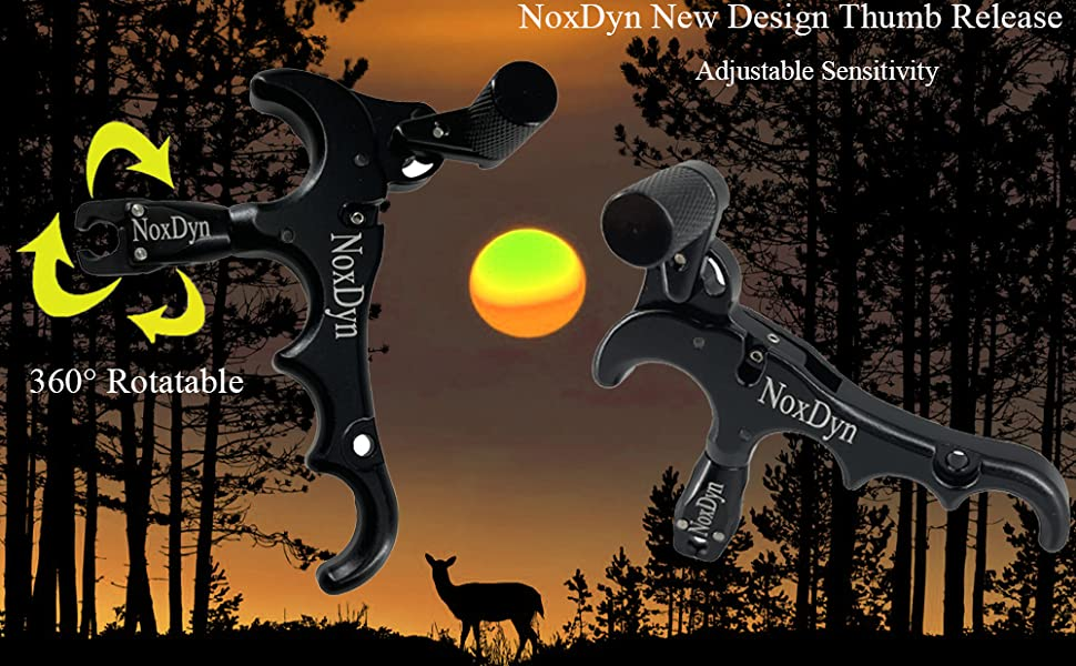 NoxDyn Thumb Release for Compound Bow