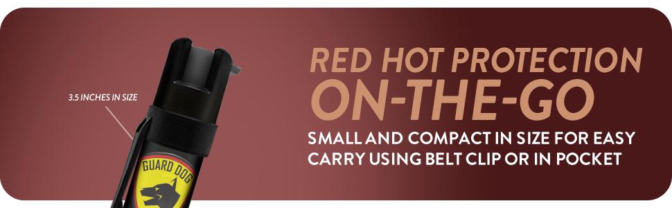 Belt Clip Pepper Spray 01